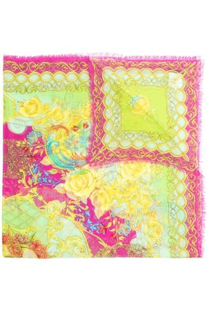 Philipp Plein Baroque pattern-print scarf - 21 MULTICOLOR