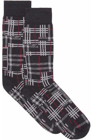 Burberry Socks - Patchwork check socks
