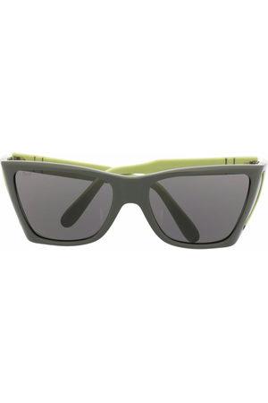 Persol Colour-block square frame sunglasses