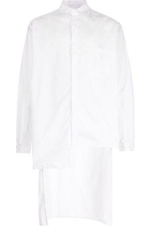 Yohji Yamamoto Asymmetric long-sleeve shirt