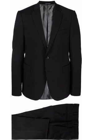 Emporio Armani Single-breasted wool suit