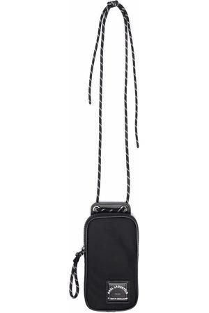 Karl Lagerfeld Logo-patch phone bag