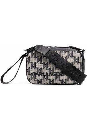 Karl Lagerfeld K/Monogram jacquard camera bag
