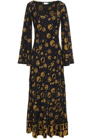 RIXO London Women Maxi Dresses - Woman Jasmine Printed Silk-crepe Maxi Dress Size L