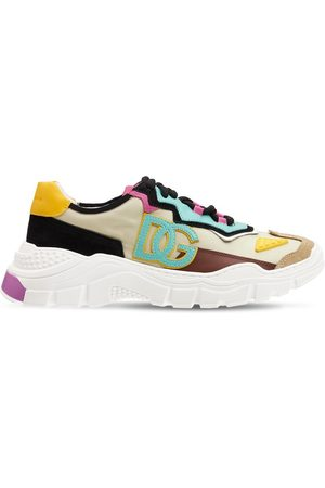 Dolce & Gabbana Girls Trainers - Daymaster Mesh Lace-up Sneakers