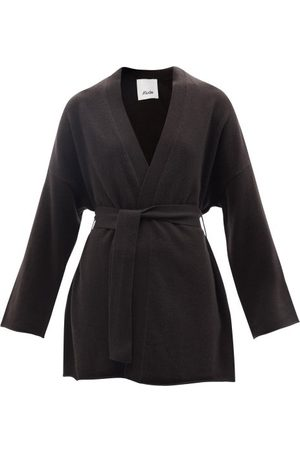 Allude Belted Cashmere Cardigan - Womens