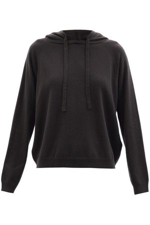 Allude Hooded Cashmere Sweater - Womens