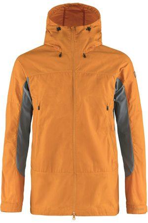 Fjällräven Fjallraven Abisko Lite Trekking Jacket Ember Orange / Super Grey