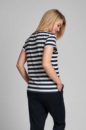 Numph Nubowie T-Shirt - Breton Dark Sapphire