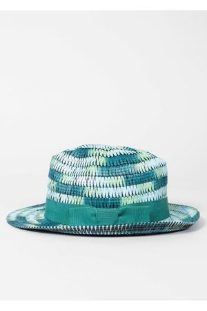 Paul Smith Turquoise Space Dye Trilby Hat