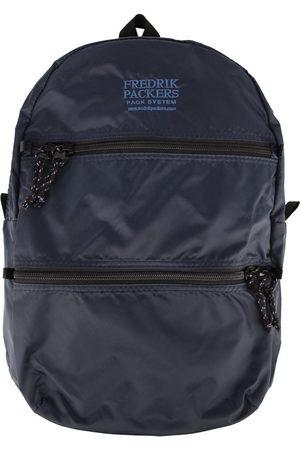 Fredrik Packers Double Zip Backpack Navy