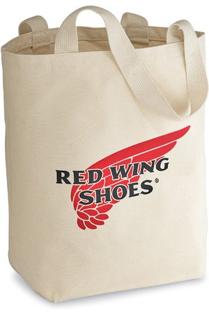 Red Wing Canvas Tote Bag Natural