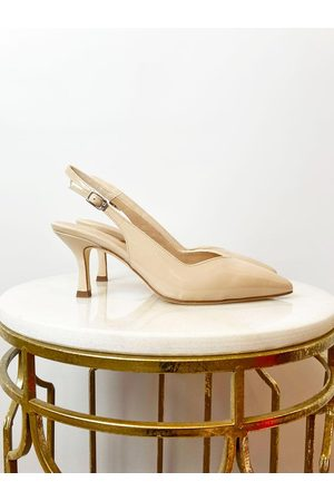unisa Lachar Slingback Shoes Nude