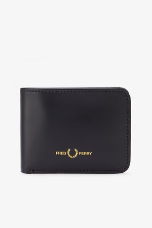 Fred Perry Fred Perry Matt Leather Billfold Wallet