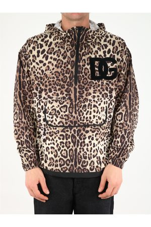 Dolce & Gabbana Men Jackets - Leopard printed jacket