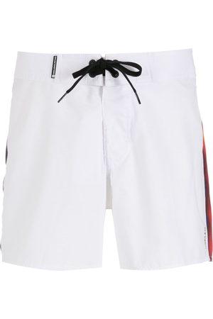 OSKLEN Rainbow Stripes swim shorts