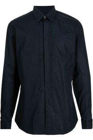 Prada Pleat-detail long-sleeve shirt