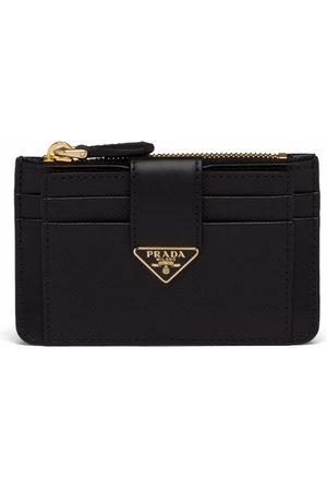 Prada Women Purses & Wallets - Logo-plaque zip-fastening purse