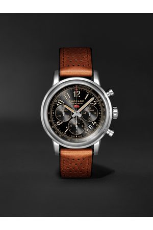 Chopard Mille Miglia Classic Chronograph Limited Edition Automatic 44mm Stainless Steel and Leather Watch, Ref. No. 168589-3034