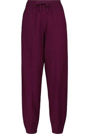 Isabel Marant, Étoile Kira wool and cotton-blend sweatpants