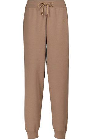 Burberry Wool-blend sweatpants