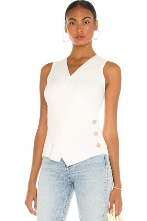 MILLY Wrap Front Top in . Size M, S, XS.
