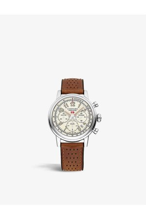 Chopard 168589-3033 Mille Miglia stainless-steel and leather automatic watch