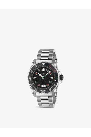 Gucci YA136221 Dive stainless steel quartz watch