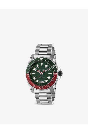 Gucci YA136222 Dive stainless steel quartz watch