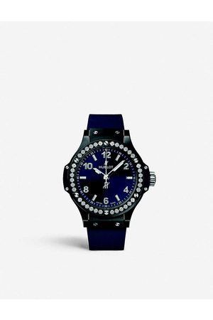 HUBLOT Men Watches - SX.1170.RX.1204 Big Bang stainless steel and diamond watch