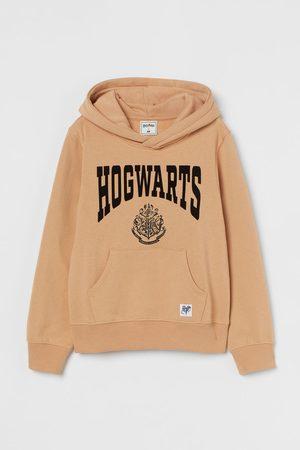 H&M Flock-print hoodie