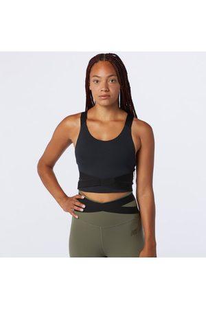 New Balance Women's Determination Academy Crop Bra - - Size L