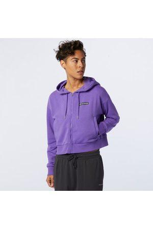 New Balance Women's Sport Style Optiks Fz Hoodie - - Size L