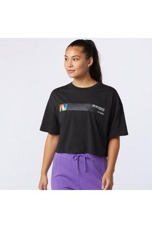 New Balance Women's Sport Style Optiks Short Sleeve Tee - - Size L