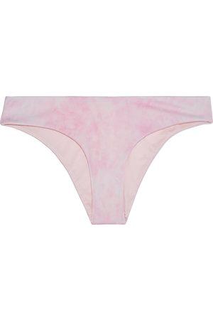 ONIA Woman Daisy Tie-dyed Low-rise Bikini Briefs Baby Size L