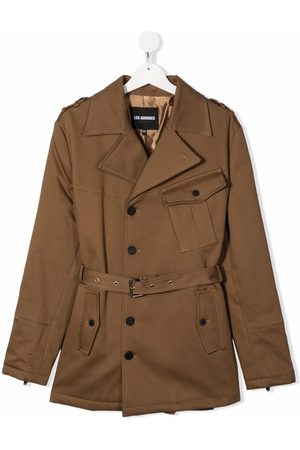 LES HOMMES KIDS Trench Coats - TEEN belted trench coat