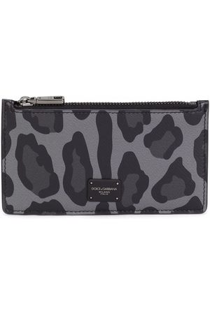 Dolce & Gabbana Men Purses & Wallets - Leopard-print cardholder wallet