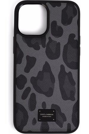 Dolce & Gabbana Men Phones - Leopard-print iPhone 12 Pro Max case