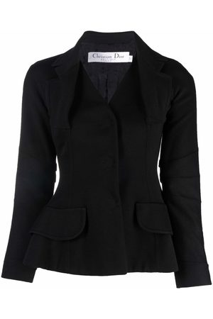 Dior 2006 pre-owned single-breasted bar jacket