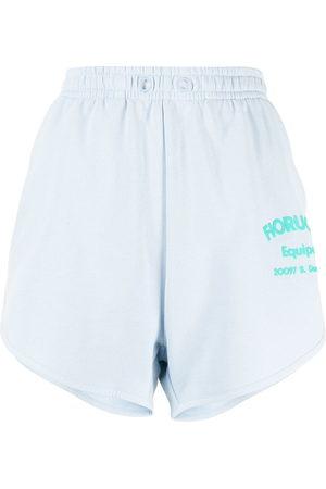 Fiorucci Equipe logo-print shorts