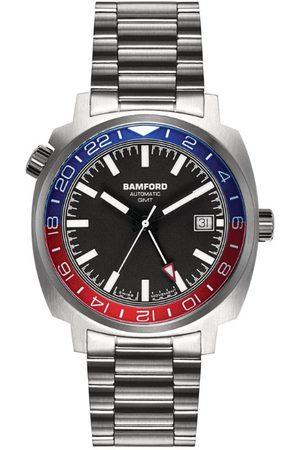 Bamford Watch Department Steel Bamford GMT Heritage Watch 40mm