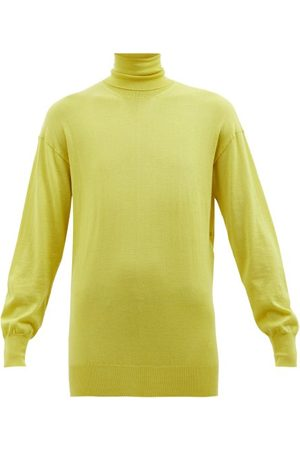 Tom Ford Roll-neck Fine-knit Cashmere-blend Sweater - Womens