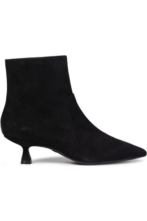 Stuart Weitzman Woman Melena 50 Suede Ankle Boots Size 34.5