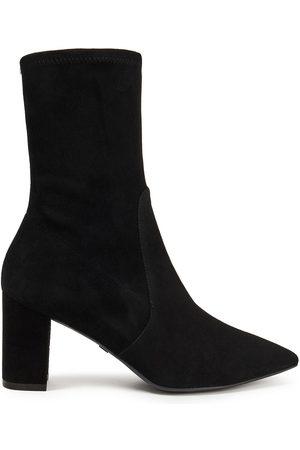 Stuart Weitzman Woman Landry 75 Stretch-suede Sock Boots Size 35