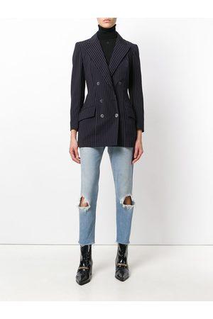 John Galliano Pre-Owned Pinstripe jacket