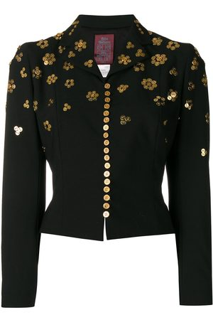 John Galliano Pre-Owned Button embellishments cropped jacket