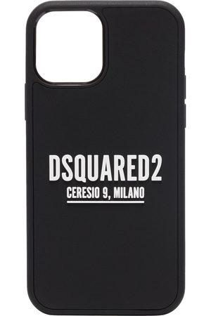 Dsquared2 Men Phones - Logo-print iPhone 12 Pro case