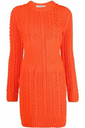 Philosophy Di Lorenzo Serafini Cable knit jumper dress