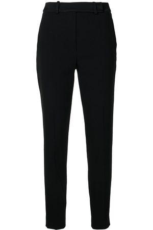 Paule Ka Straight-leg crepe trousers
