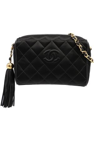Chanel Pre-Owned 1995 diamond-quilted camera bag